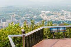 Roanoke virginia city skyline Royalty Free Stock Photography