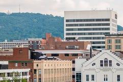 Roanoke virginia city skyline Royalty Free Stock Image