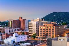 Roanoke Virginia Cityscape Stock Images