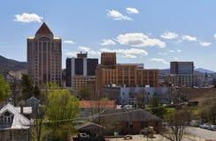 Roanoke, Virginia Skyline fotografía de archivo