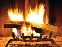 Roaring fire Stock Images