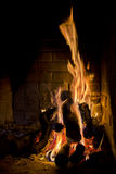 Roaring Fire Royalty Free Stock Photos