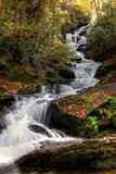 Roaring Fork Creek Falls III stock photos
