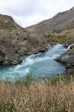 The Roaring Meg (Te Wai a Korokio), Kawarau River, Central Otago, south island of New Zealand Stock Images