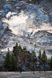 Roaring mountain, Yellowstone national park Stock Photo