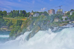 The Roaring Rhine Falls Royalty Free Stock Photo