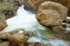 Roaring River Falls. At Kings Canyon national park Stock Images