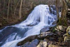 Roaring Run Waterfall 2, Eagle Rock, VA royalty free stock image