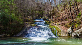 Roaring Run Waterfall (Lower Falls), Virginia, USA Royalty Free Stock Images