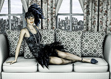 Roaring Twenties Stock Photography