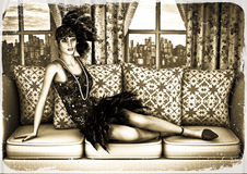 Roaring Twenties Royalty Free Stock Photography