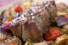 Roast βόειο κρέας στοκ εικόνα με δικαίωμα ελεύθερης χρήσης