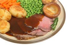 roast γευμάτων βόειου κρέατο&s στοκ φωτογραφίες με δικαίωμα ελεύθερης χρήσης