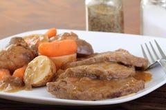 roast γευμάτων βόειου κρέατο&s Στοκ Φωτογραφίες