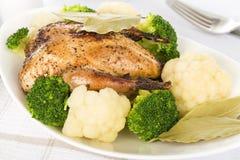 Roast γεύμα Στοκ εικόνες με δικαίωμα ελεύθερης χρήσης