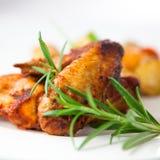 roast κοτόπουλου φτερά δεντ&r Στοκ φωτογραφίες με δικαίωμα ελεύθερης χρήσης