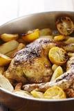 roast κοτόπουλου Στοκ Φωτογραφίες