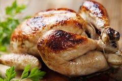 roast κοτόπουλου Στοκ φωτογραφίες με δικαίωμα ελεύθερης χρήσης