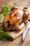 Roast κοτόπουλο Στοκ Φωτογραφία