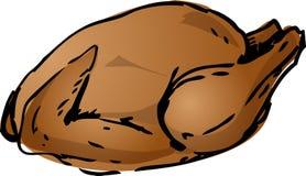 Roast κοτόπουλο Στοκ εικόνα με δικαίωμα ελεύθερης χρήσης