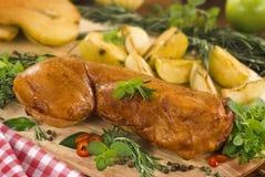 roast κουνελιών Στοκ εικόνα με δικαίωμα ελεύθερης χρήσης