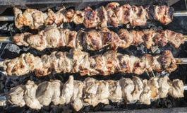 Roast κρέας Στοκ Εικόνες