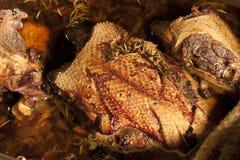 roast παπιών Στοκ Φωτογραφίες