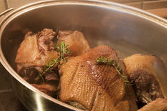 roast παπιών Στοκ Εικόνες