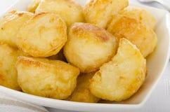 Roast πατάτες Στοκ εικόνες με δικαίωμα ελεύθερης χρήσης
