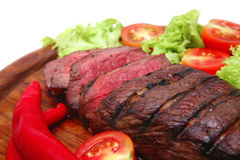 roast πιάτων κρέατος στοκ εικόνα