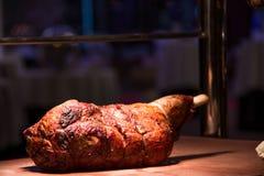 Roast πόδι του αρνιού Στοκ Φωτογραφίες