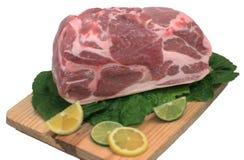 roast χοιρινού κρέατος άκρης Στοκ Φωτογραφίες