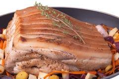 roast χοιρινού κρέατος Στοκ Εικόνες