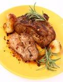 roast χοιρινού κρέατος στοκ εικόνα