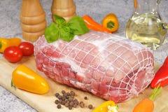 roast χοιρινού κρέατος Στοκ Φωτογραφίες