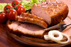 roast χοιρινού κρέατος Στοκ εικόνα με δικαίωμα ελεύθερης χρήσης