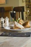 Roast χοιρινό κρέας Στοκ Φωτογραφίες