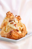 Roast apple in the dough coat Royalty Free Stock Image