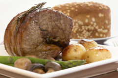 Roast beef Royalty Free Stock Photography