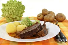 Roast beef Stock Image