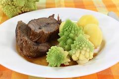 Roast beef Stock Image