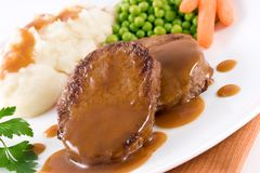 Roast Beef stock photo