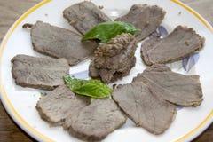 Roast beef of chianina Stock Image
