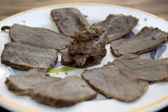 Roast beef of chianina Royalty Free Stock Photos