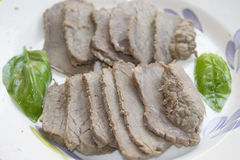 Roast beef of chianina Royalty Free Stock Photography