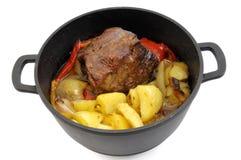 Roast beef dish Stock Image