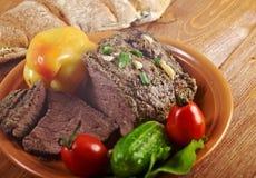 Roast beef farm-style Stock Image