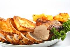 Roast beef horizontal Royalty Free Stock Image