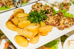 Roast beef Stock Photo