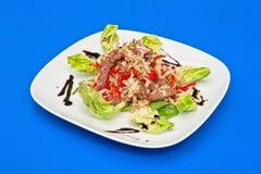Roast beef salad Royalty Free Stock Photography